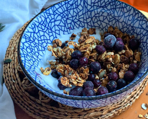 pumpkin protein powder granola