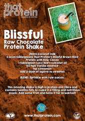 Blissful Raw Chocolate Protein Shake