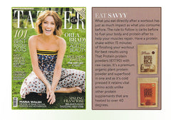 Irish Tatler talks about that protein's excellent products.