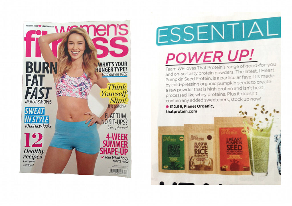 that protein vegan protein powders feature Women's Fitness magazine