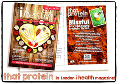 that protein recipe in London i health magazine. March 20th 2015.
