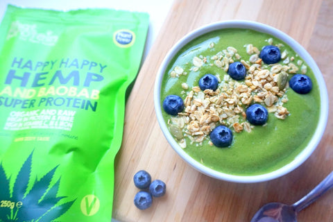 Happy Hemp & Baobab New Year Smoothie