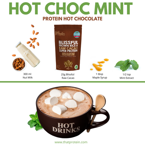 that protein hot choc mint recipe
