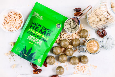 Hemp Protein Ball Recipe - Shine Bright In Your Best Skin