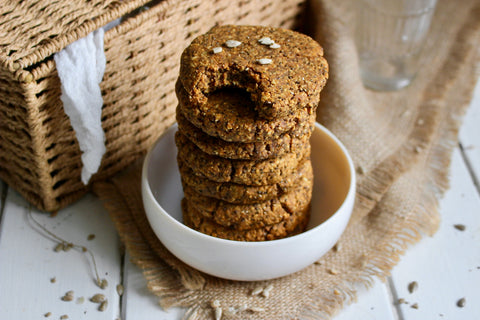 that protein - Vegan and Gluten Free Protein Pumpkin Cookies
