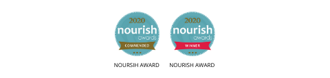 that protein nourish awards 2020 for Choca Mocha badges