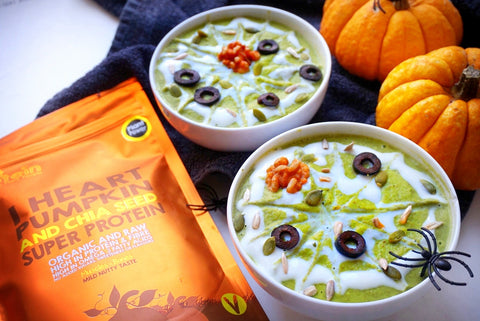 that protein - Pumpkin Protein Power Soup.