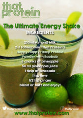 The Ultimate Energy Protein Shake