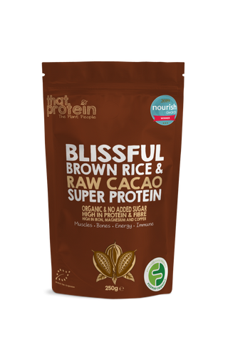 that protein blissful raw cacao low fodmap chocolate protein