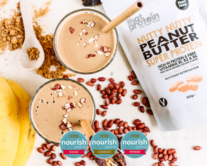 best vegan protein voted best vegan protein by Nourish awards in 2019 for best tasting protein
