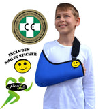 Arm Sling CHILD X-Deep (blue)Traditional Basic by 4DflexiSPORT®