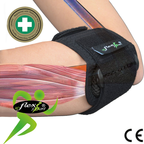 Tennis Elbow/Epicondylitis (2Pk) by 4Dflexisport® BUY 2 SAVE 10%!