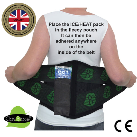 NEW***Therapeutic Lumbar Brace DELUXE X-Deep Max Support by ClaviBrace®