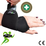 Rider Wrist Wraparound Support (BLACK) by 4DflexiSPORT®