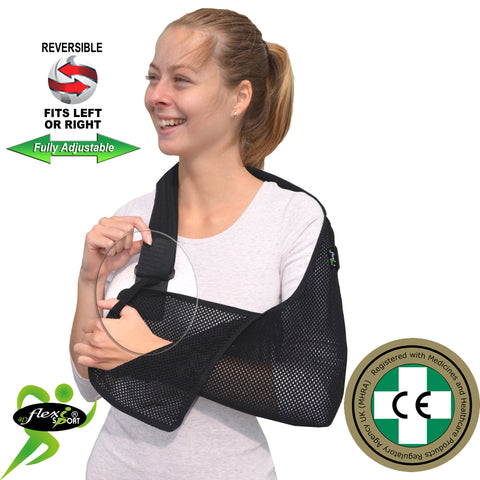 Child/youth Shoulder Arm Sling EXTRA-DEEP Standard Design by 4Dflexisport
