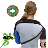 Arm Sling (S,M,L) NECK PAIN PREVENTION With DIAGONAL Strap by 4DflexiSPORT®