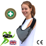 Arm Sling ADULT(O/S) REGULAR style VELOUR/Black Trim by 4DflexiSPORT®