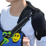 Arm Sling CHILD ANTI NECKACHE with Diagonal Strap by 4DflexiSPORT®