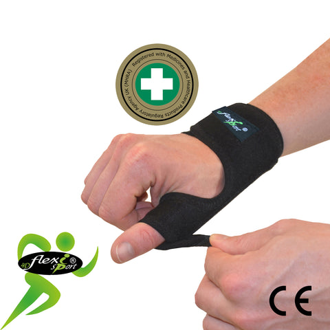 Thumb Splint with METAL SPLINT by 4DflexiSPORT®