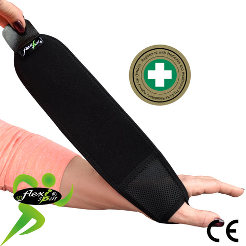 Wraparound Wrist Strengthener/Thumb Base Support by 4DflexiSPORT® BUY 2pk & SAVE