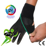 Wraparound Wrist Strengthener/Thumb Base Support for RIDERS by 4DflexiSPORT®