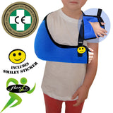 Arm Sling CHILD BLUE X-Deep Basic by 4DflexiSPORT®