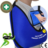CHILD Arm Sling BLUE X-Deep Basic by 4DflexiSPORT®