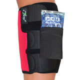 Calf Support with Therapeutic Ice/heat Pack by 4DflexiSPORT®