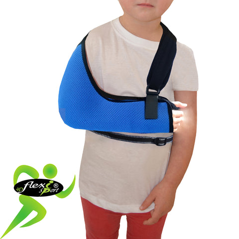Arm Sling CHILD REGULAR Style with Waist Belt by 4DflexiSPORT®