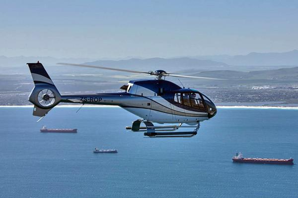 Book a Cape Point Private Helicopter Flight onboard a Airbus H120 in Cape Town