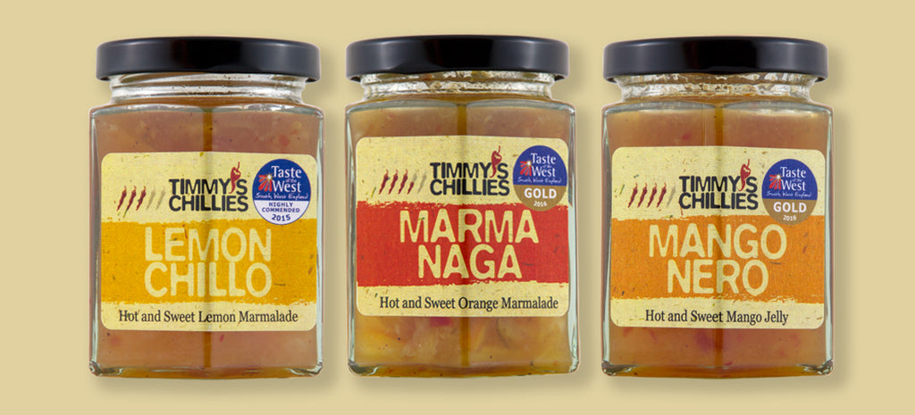 Trio of Marmalades and Jellies