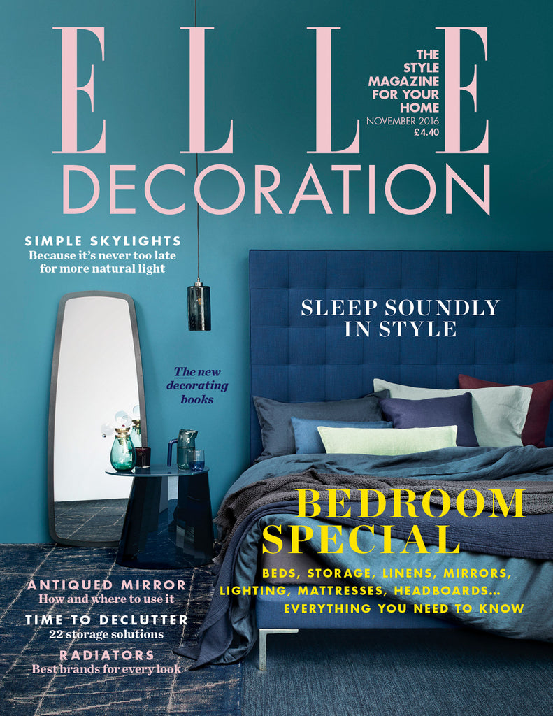 Oricalcum linseed paint features in Elle Decoration
