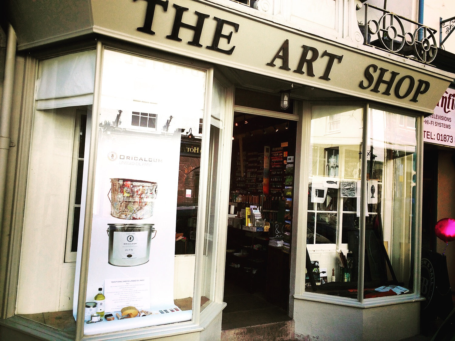 The Art Shop retailer of Linseed oil paint