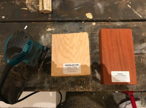 Sample test on various types of timber