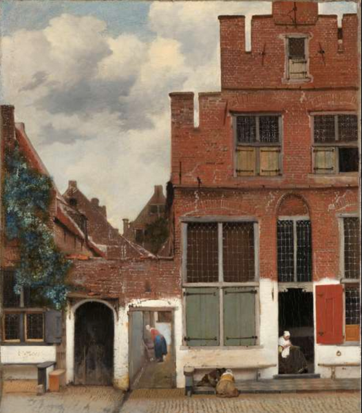 Johannes Vermeer's The Little Street