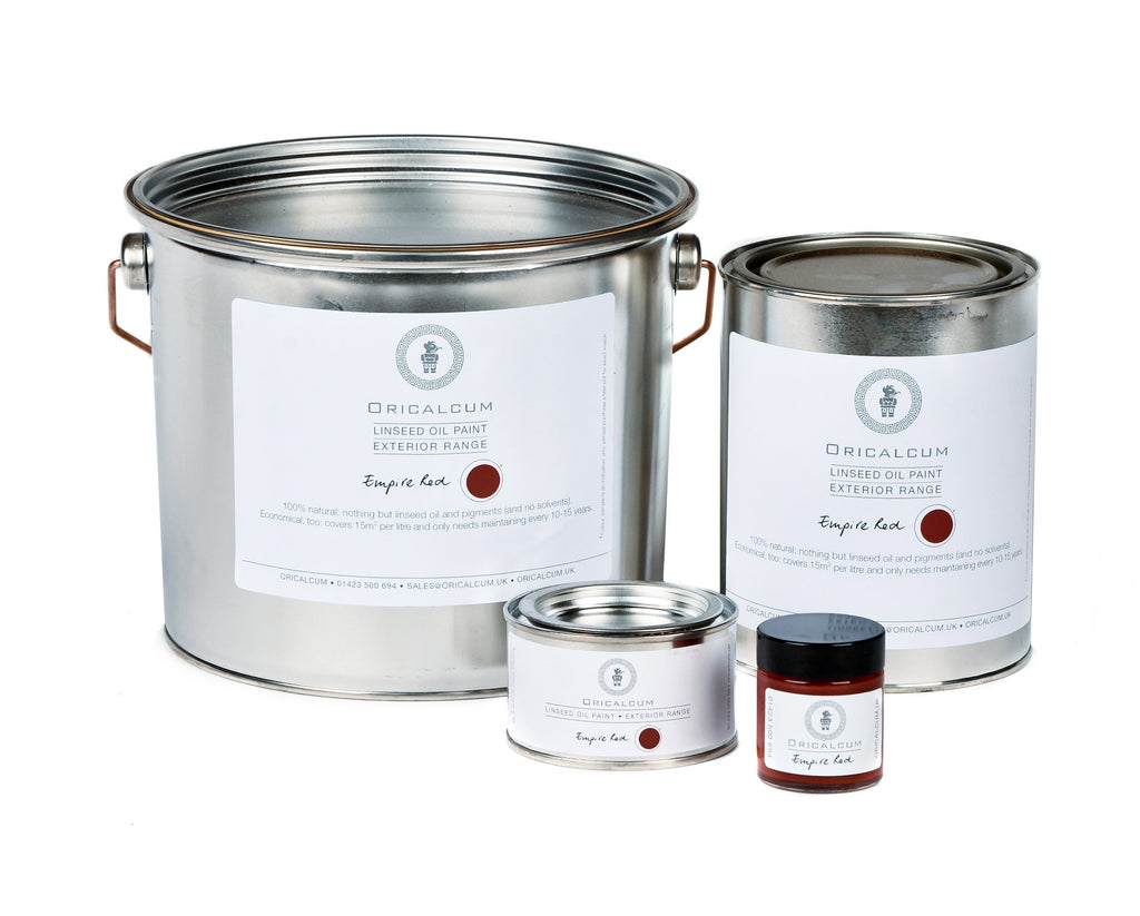 Linseed Paint - Empire Red