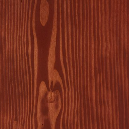 Satin Wood Oil Persian red on Douglas Fir