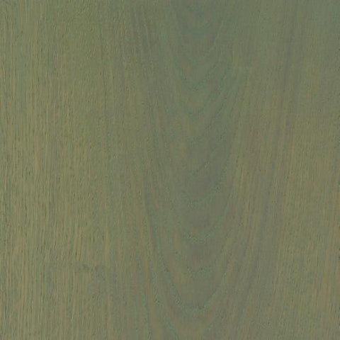 Satin Wood Oil Greenland Green on Oak