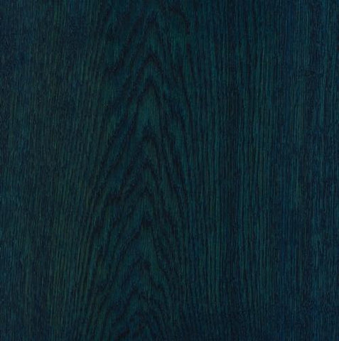 Satin Wood Oil Paris Blue on Oak