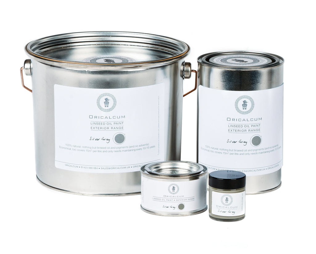 Linseed Paint - Silver Grey