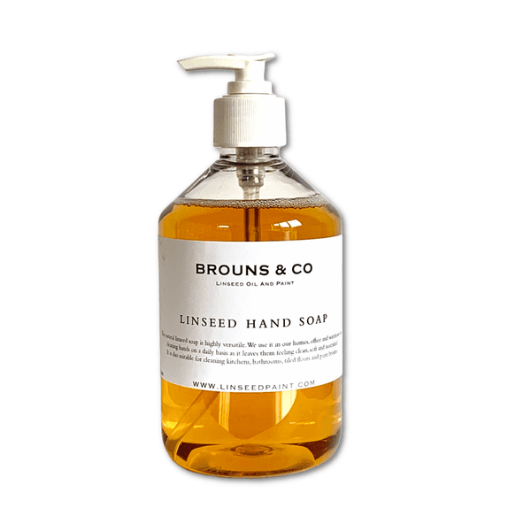 Linseed oil hand soap (500ml)