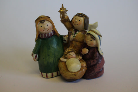 Cute Smiling Nativity Scene
