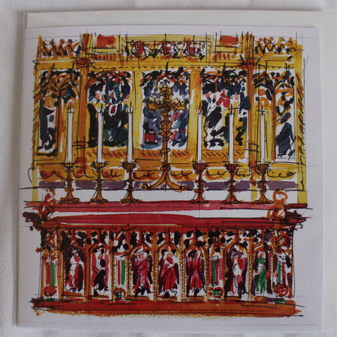 Wakefield Cathedral High Altar blank card