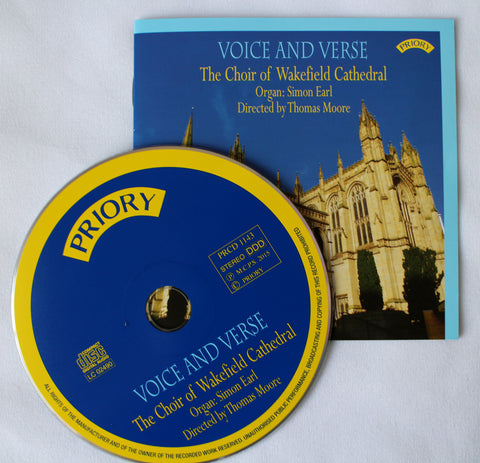 Wakefield Cathedral Choir CD - Voice and Verse