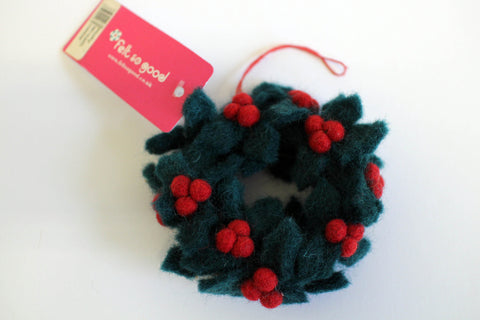 Soft Felt Wreath