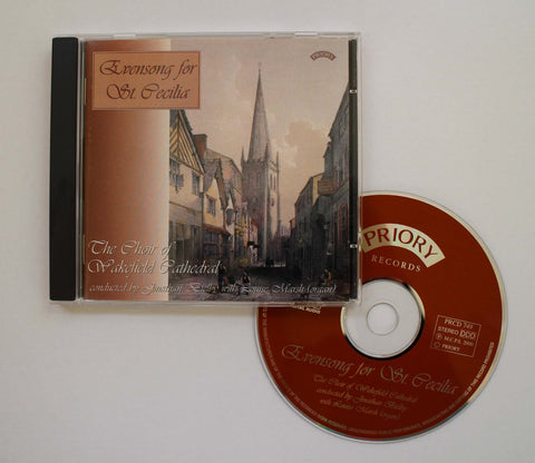 Wakefield Cathedral Choir CD - Evensong for St Cecilia