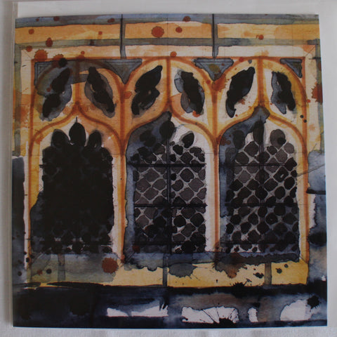 Wakefield Cathedral Window blank card