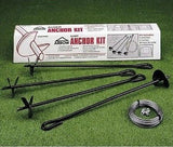 Anchor Kit For Garden Tool Equipment Shed Metal Building Secure Wind Tie Down - ShopMonkeez  - 4