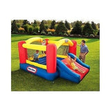 Bounce House Inflatable Bouncer Slide Jumper Commercial Blower Moonwalk Bouncy - ShopMonkeez  - 2