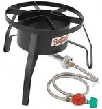Stove Propane Burner Camping Gas Camp Portable Outdoor Bbq Cooking Tailgating - ShopMonkeez  - 4